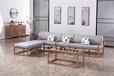 山东厂家直销定做黄柏实木客厅家具新中式实木沙发套装