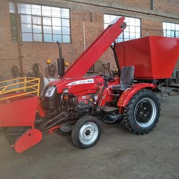 正科4YB-2新型农用玉米收获机