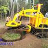 履带式挖树机