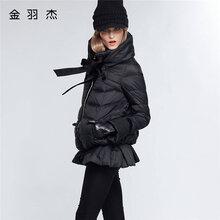 冬装金羽杰羽绒服价格实惠性价比高品牌女装折扣走份一手货源