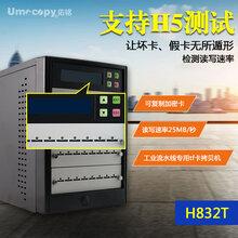 原装佑铭Umecopy品牌金狐H5检测坏块和速率1拖31高速TF卡拷贝机图片