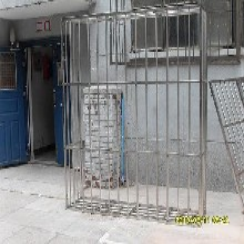 北京朝阳甘露园安优游注册平台断桥铝窗户不锈钢防盗窗防护栏围栏图片