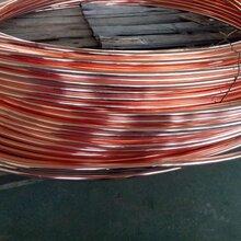 江泰水平连铸工艺产品铜包钢圆线可塑性高图片