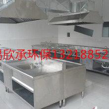 無錫飯店廚房不銹鋼排煙罩無錫供應排設計安裝飯店廚房不銹鋼排煙罩圖片