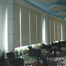 北京高中低档窗帘定做窗帘杆防晒遮光窗帘会议室卷帘定做图片