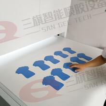 深圳三旗厂家鞋面自动划线机直销生产智能喷胶机/欢迎咨询案例视频图片