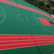 天津幼儿园环保彩色塑胶场地_EPDM塑胶跑道-安澜体育