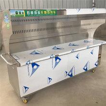 南京烧烤炉油烟净化器环保商用烧烤炉政润价格低图片
