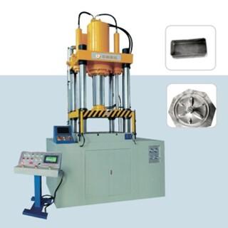 宁波乐桐不锈钢薄板拉伸液压机快速成形框架液压机图片3