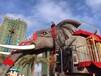 东丽高大霸气灵动机械大象,七彩梦幻灯光节低价出租租赁