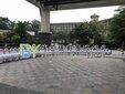 深圳哪里拍年会商会经销商会议照集体照拍照架子出租大合影大合照拍摄公司会议照拍摄图片