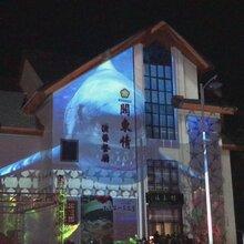 投影机租赁3D全息舞蹈秀3D视频制作楼体投影