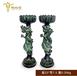 仿古青铜器摆件烛台香炉金属工艺品家居装饰客厅摆件风水摆件定制