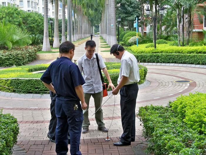 检测水管漏水点,市政污水管道检测,雨水管清洗上海