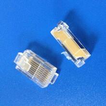 變頻器水晶頭長金片水晶頭變頻器專用水晶頭圖片