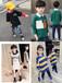 江西萍鄉長袖童裝衛衣批發廠家一手貨源20元左右金絲絨長袖衛衣批發貨到付款高領童裝