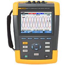 Fluke437-II三相電能質量分析儀圖片