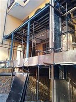 别墅扩建改造结构露台加建