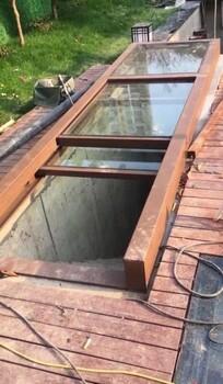智能屋顶天窗兮鸿电动折叠天窗