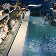定制青島餐廳酒店塑膠地板圖片