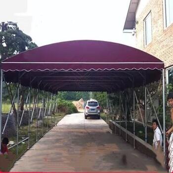 订做夜市大排档折叠帐篷推拉帐篷雨棚遮阳车彩蓬工地仓库棚