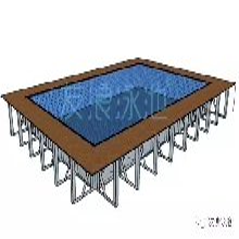 鋼結構拼裝泳池與混凝土泳池的區別