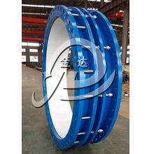 不锈钢法兰限位器管道伸缩器国标各种管道伸缩节头直通式伸缩节图片