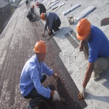 多彩沥青瓦生产施工代理一站式服务图片