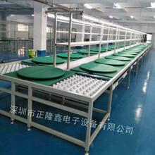 深圳循環線電器組裝線無動力手推滾筒總裝線可定制圖片
