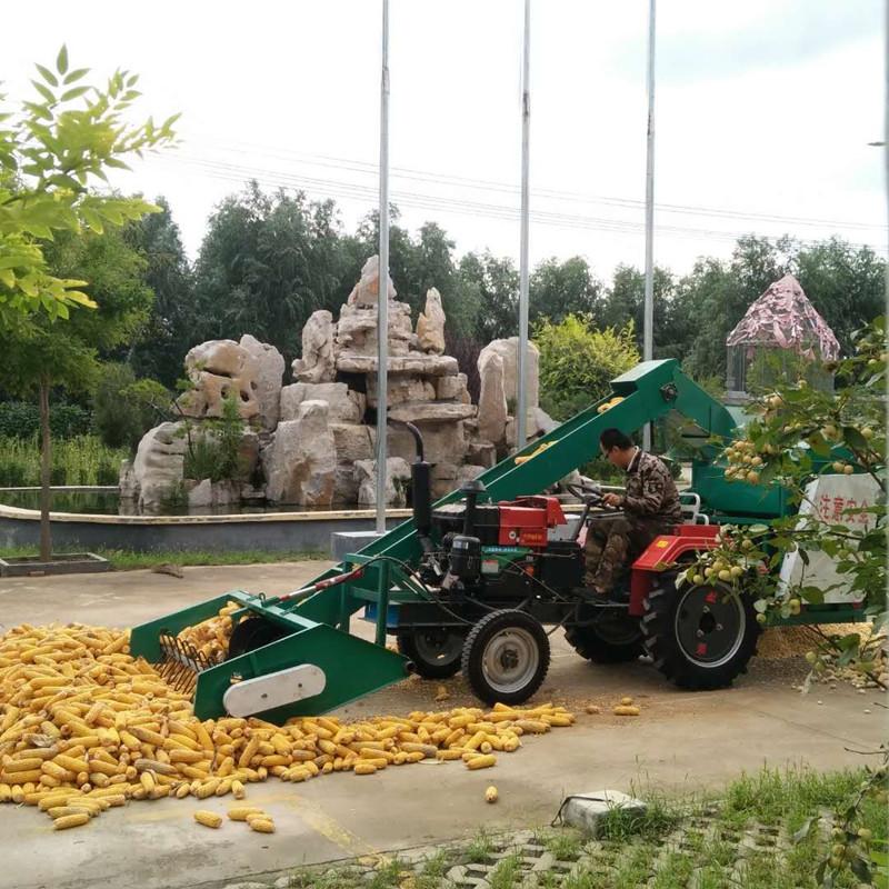广元自走式玉米脱粒机自上料玉米脱粒机厂家