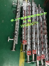 西安水箱高低报警水位计厂家,酸碱储罐PVC,PP磁浮子液位计价格