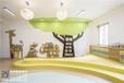 杭州幼兒英語培訓機構裝修設計案例-國富裝飾