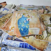 湖南熱銷型理光G5皮革化妝品蓋印花機裝飾材料大型uv平板打印機