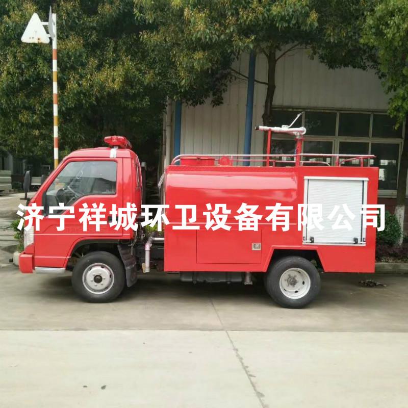 小型乡镇消防车厂家直销小型乡镇专用福田3吨消防车