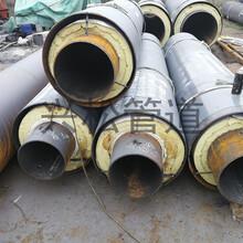 鋼套鋼直埋蒸汽管道直埋預制鋼套鋼管道圖片