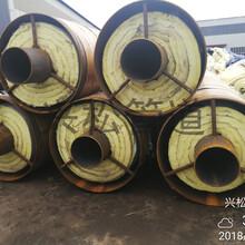 鋼套鋼預制蒸汽保溫管鋼套鋼埋地保溫管圖片