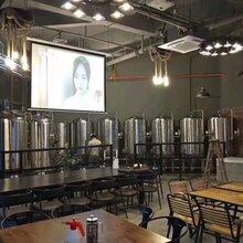 啤酒发酵罐啤酒糖化罐精酿啤酒生产线图片