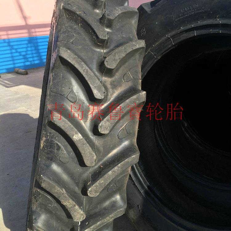 玲珑320/85R28全钢农用拖拉机轮胎人字花纹