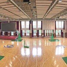 室内篮球馆木地板多少钱一平米