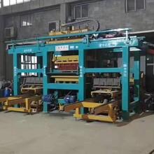 天津建丰建虎智能免托板砖机设备高清生产标砖面包砖视频分享图片