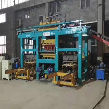 天津建豐免托板磚機黑龍江智能免托板大慶磚機設備不用轉機托板