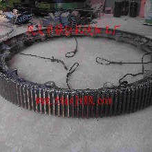 石灰回轉窯大齒輪/水泥回轉窯輪帶配件加工圖片