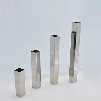 定制精品國標316L不銹鋼方管不銹鋼矩形管不銹鋼圓管