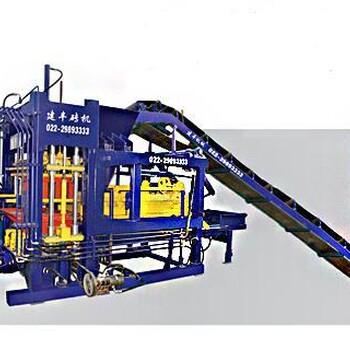 貴州黔南州免燒環保液壓水泥制磚機彩磚透水磚機砌塊空心磚機