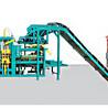 新疆喀什地區建豐磚機設備廠家各種模具免燒水泥制磚機空心磚機