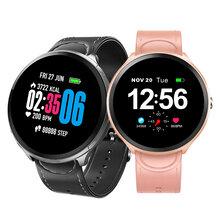 最新款B12触摸彩屏智能手环心率手环环血压睡眠监测来电提醒智能手表