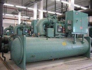 二手中央空调回收,回收螺杆式冷水机组,上海制冷机组回收公司