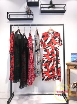 原创设计女装品牌朗文斯汀19夏太平鸟折扣女装片断品牌剪标