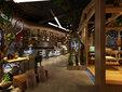 杭州餐饮店面效果图设计制作,餐厅效果图制作,杭州做餐厅的效果图公司图片