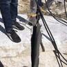 坚硬岩石破碎锤打不动效率高愚公斧分裂机